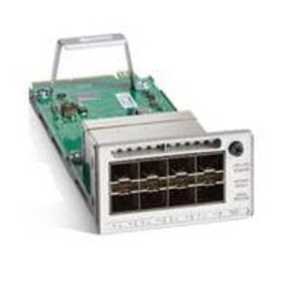 Picture of Cisco Catalyst 9300 Series Network Expansion Module - 1Gb/10Gb/25Gb Ethernet SFP x 8
