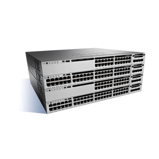 Picture of Cisco Catalyst 3850-48XS-F-S WS-C3850-48XS-F-S Switch