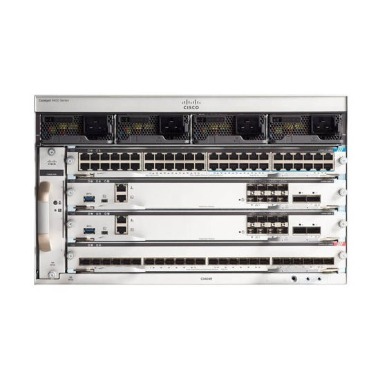 Picture of Cisco Catalyst 9400 Series 4 slot chassis C9404R