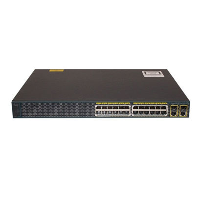 Picture of Cisco Catalyst 2960-24PC-S WS-2960-24PC-S Switch