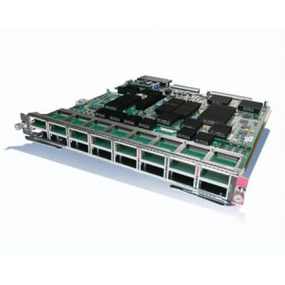 Picture of Cisco Catalyst 6500 WS-X6716-10G-3C Ethernet Module Equipped with DFC3C