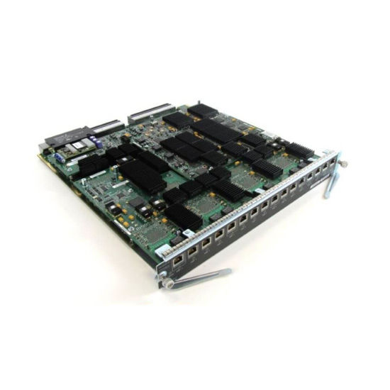 Picture of Cisco Catalyst 6716 WS-X6716-10T-3CXL Ethernet Module Equipped with DFC3CXL