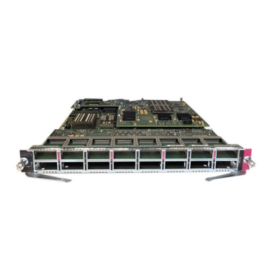Picture of Cisco Catalyst 6816 WS-X6816-10G-2T Ethernet Module with DFC4