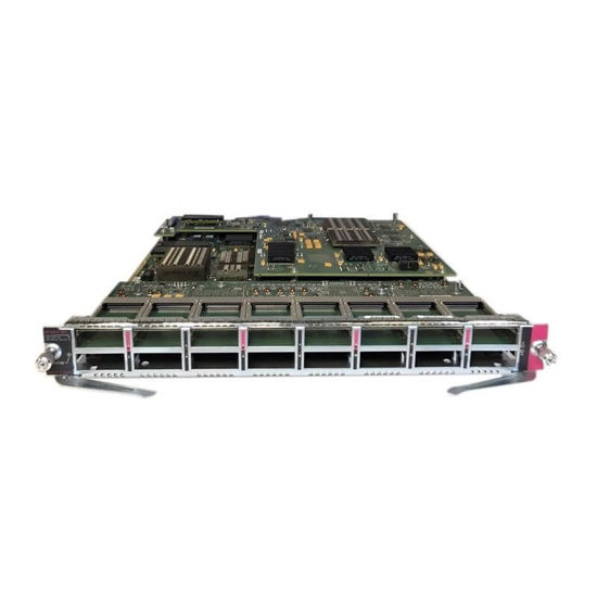 Picture of Cisco Catalyst 6816 WS-X6816-10G-2TXL Ethernet Module Equipped with DFC4XL