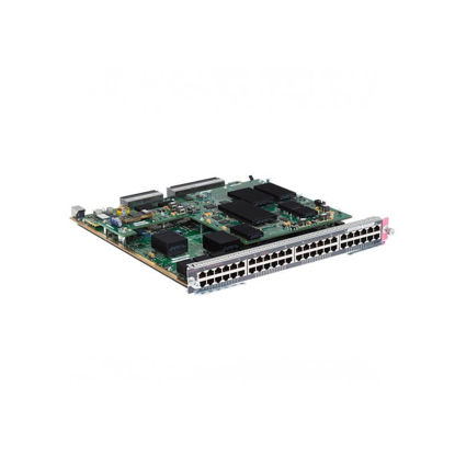 Picture of Cisco Catalyst 6848 WS-X6848-TX-2T Ethernet Module with DFC4 and DFC4XL