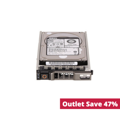 """Picture of Dell 600GB 10K 12G SAS 2.5"""" Hotswap Hard Drive 453KG 0453KG (Outlet)"""