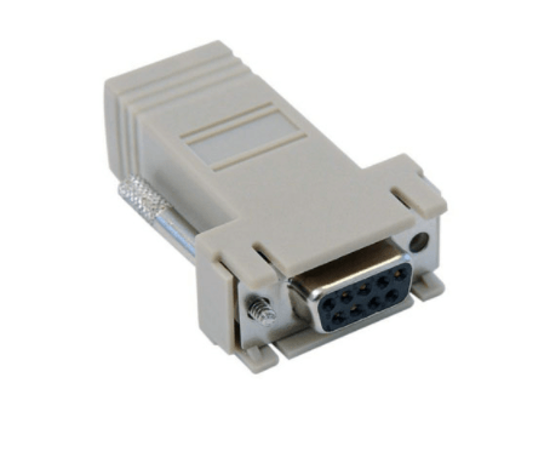 Picture of HPE 3PAR DB9 to RJ45 Serial Converter 180-0055-01
