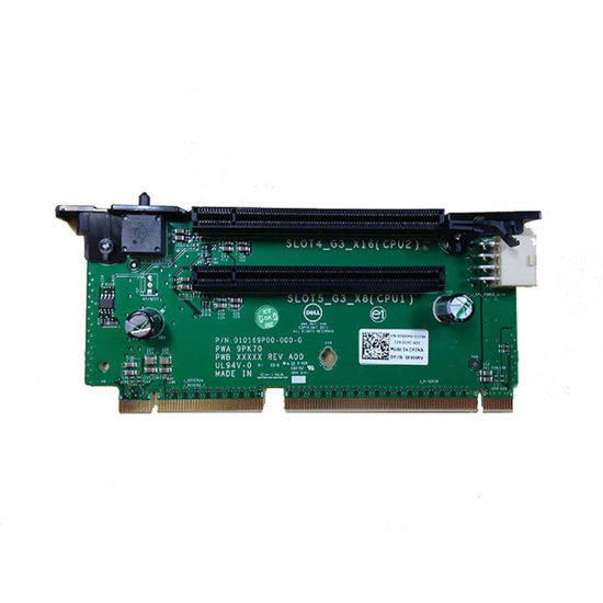 Picture of Dell PowerEdge R720 R720XD 2x PCIE Riser Card FXHMV