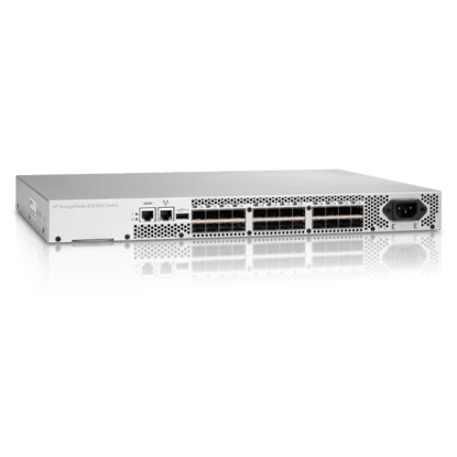 Picture of HP Storage Works 8/8 8x Full Fabric Ports Enabled SAN Switch AM867A