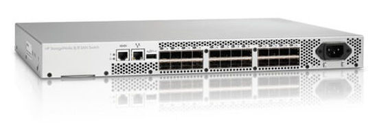 Picture of HP 8/8 Base 0x Ports Enabled E-Port SAN Switch AM866A