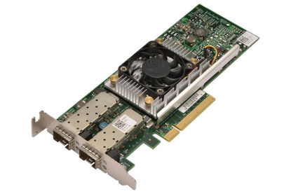 Picture of Dell Broadcom 57810S 10GB SFP Dual Port Network (Low Profile) Y40PHL