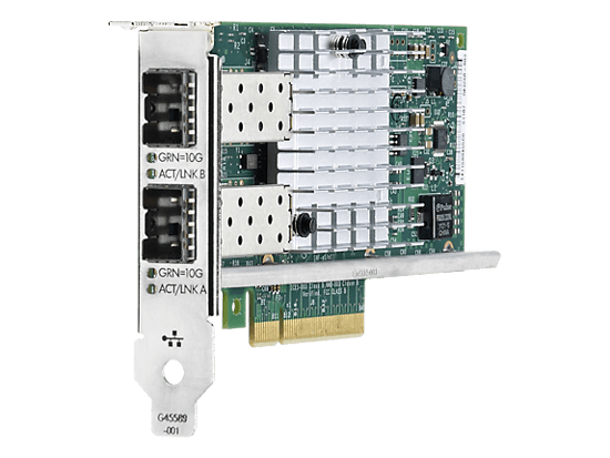 Picture of HP Ethernet 10Gb 2-port 560SFP+ Adapter - Low Profile 665249-B21L
