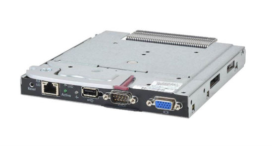 Picture of HP BLc7000 Onboard Administrator with KVM Option 456204-B21