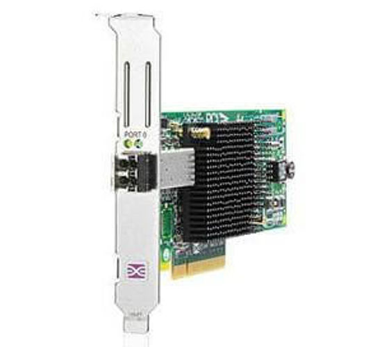 Picture of HP StorageWorks 8Gb PCI-e to Fibre Channel Host Bus Adapter - High Profile AJ762AH