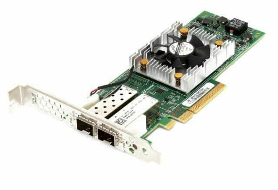 Picture of Dell QLogic QLE2662 16GB Dual Port Host Bus Adapter - High Profile H8T43H