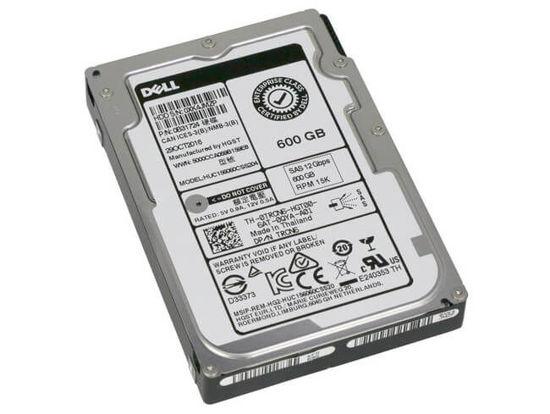 "Picture of Dell 600GB 15K SAS 12Gb 2.5"" Hard Drive TRCN6"
