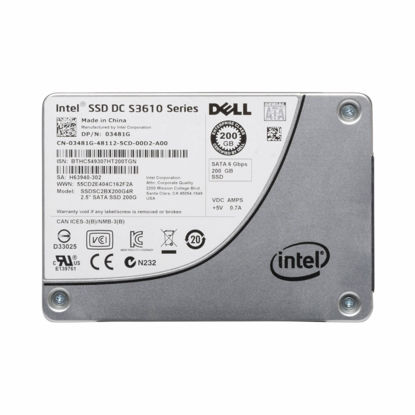 """Picture of Dell 200GB MLC 6G 2.5"""" SATA Solid State Drive - R-Series Tray 3481G"""