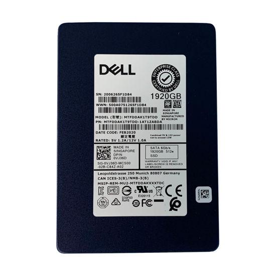 """Picture of Dell 2.5"""" 1.92TB 6G RI SATA Solid State Drive VJ36D"""