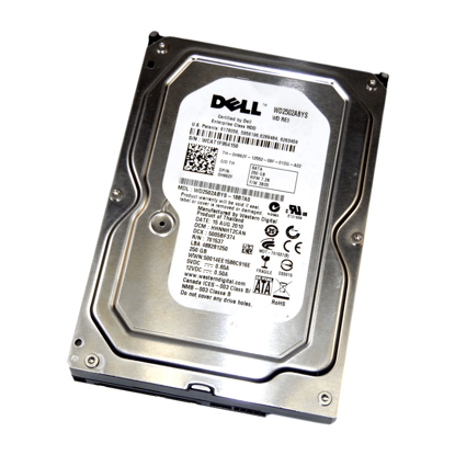 """Picture of Dell 250GB 7.2K 3.5"""" Hard Drive (Rseries Caddy) H962F"""