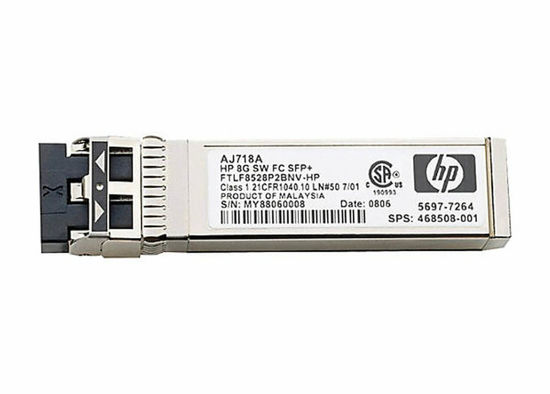 Picture of HP 8Gb Short Wave Fibre Channel SFP+ 1 Pack AJ718A