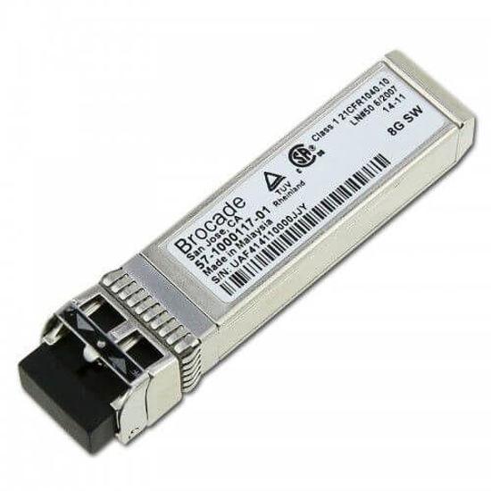 Picture of Brocade 8GB Duplex SFP+ Transceiver 57-1000117-01
