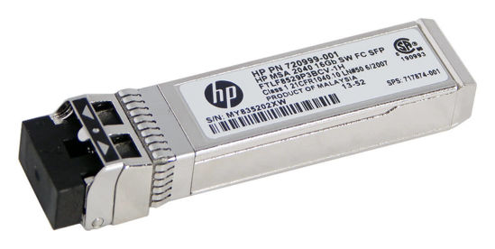 Picture of HP B-Series 16GB SFP Short Wave Transceiver QK724A